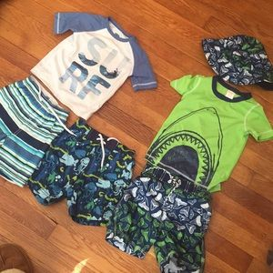 3 18-24 month bathingsuits